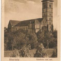 Alba-Iulia - Catedrala rom. cat. - 1946
