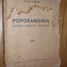 POPORANISMUL  Geneza * Evolutie * Ideologie  -- Valeriu Ciobanu   [ 1946 ]