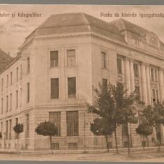 Timisoara - Directiunea postelor si telegrafilor - interbelica - Carte Postala Banat dupa 1918