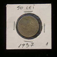 CMR1 - 50 LEI 1937 - Moneda Romania