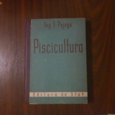 Piscicultura - Ing. I. Pojoga - 1951