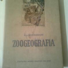 ZOOGEOGRAFIA  ~ N.A.BOBRINSCHI