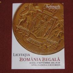 LICITATIA ROMANIA REGALA - Catalog arta ARTMARK - Carte Arta muzicala