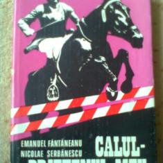 Emanuel Fantaneanu Nicolae Serbanescu Calul prietenul meu carte hobby ilustrata - Carte sport