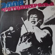 Disc vinil Ella Fitzgerald - untitled 1980 Melodia rusesc - Muzica Religioasa