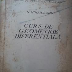 CURS DE GEOMETRIE DIFERENTIALA