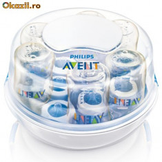 Vand sterilizator Avent Express pt cuptor microunde - Sterilizator Biberon, Pentru microunde