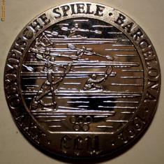 5.131 MEDALIE OLIMPIADA BARCELONA CAIAC 1992 PROOF 38, 5mm, Europa