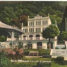 Baile Herculane - Casino si parcul - 1929