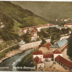 Baile Herculane - Vedere generala - 1924