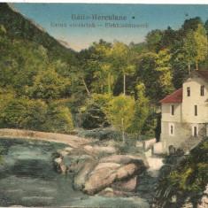 Baile Herculane - Uzina electrica - 1928