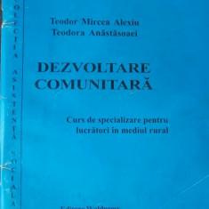 DEZVOLTAREA COMUNITARA-CURS DE SPECIALIZARE PENTRU LUCRATORI IN MEDIUL RURAL