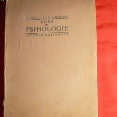 C.Radulescu-Motru -Curs de Psihologie -Prima Ed. 1923