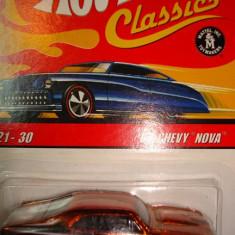 HOT WHEELS; '68 CHEVY NOVA ++1799 DE LICITATII ! - Macheta auto