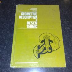 Geometrie Descriptiva si Desen Tehnic - T. Ivanceanu - 1979