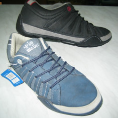 Pantofi barbati WINK; cod FJ133-4(albastru); FJ133-3(negru); FJ133-2(marou) - Pantof barbat Wink, Marime: 45, 46, Piele sintetica