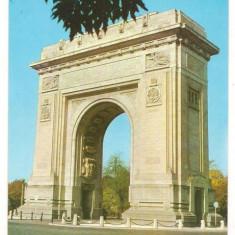 Carte postala-BUCURESTI-Arcul de Triumf - Carte Postala Muntenia dupa 1918