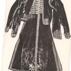 Carte postala-BUCURESTI muzeul de istorie-Costum de boier - Carte Postala Muntenia dupa 1918