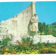 Carte postala- BAIA MARE-Monumentul ostasului roman