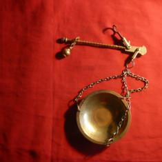 Miniatura Cantar cu un singur brat ( de piata) -bronz