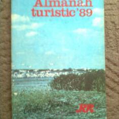 Almanah turistic 89 1989 cartea dunarii