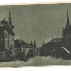 Carte postala- CLUJ-Podul peste Somes - Carte Postala Transilvania dupa 1918