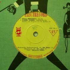 Disc vinil vinyl pick-up Electrecord CHA-CHA TWIST Alex Imre Margareta Pislaru Sile Dinicu FORMAT MIC 45 rpm rar vechi colectie - Muzica Dance
