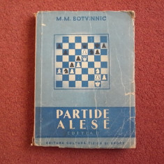 Partide alese-M.M. Botvinnic