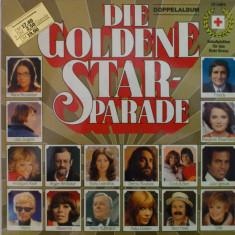 Disc vinil vinyl pick-up Electrecord DUBLU DIE GOLDENE STAR PARADE Julio Iglesias Demis Roussos Freddy Marianne Rosenberg rar vechi colectie