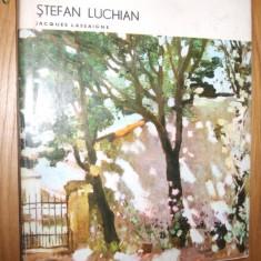 STEFAN LUCHIAN   --- album   - Jacques Lassaigne   [ Editura Meridiane,  1972 ], Alta editura