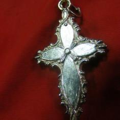 CRUCIFIX ARGINTAT, CRUCE VECHE, ISUS