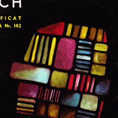 BACH MAGNIFICAT CANTATA NR 142 PROFIL MARE VINIL - Muzica Opera