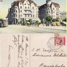 Oradea-tramvai, animata - Carte Postala Crisana pana la 1904
