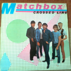 Matchbox crossed line album disc vinyl lp muzica rock rockabilly 1983, VINIL