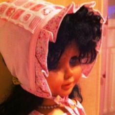 Boneta/caciuli/haine pt bebe/copii/fete, roz, NOUA, PITICOT, 6-12luni, ft draguta!-8 ron - Caciula Copii