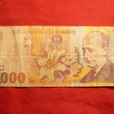 Bancnota 5000 Lei 1998, cal.medie - Bancnota romaneasca