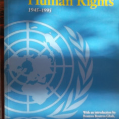CARTE IN ENGLEZA-THE UNITED NATIONS AND HUMAN RIGHTS
