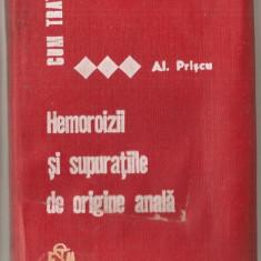 (C995) CUM TRATAM HEMOROIZII SI SUPURATIILE DE ORIGINE ANALA DE DR. A. PRISCU,