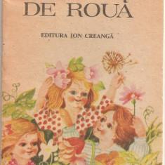 (C1060) OGLINZI DE ROUA DE IOANA TATU, EDITURA ION CREANGA, BUCURESTI, 1988, ILUSTRATII DE DOINA MICU - Carte poezie copii