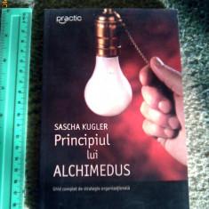 Principiul lui Archimedeus, Ghid complet de strategie organizationala, Sascha Kugler - Carte Resurse umane
