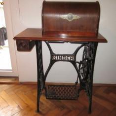 Masina de cusut veche germana Singer functionala