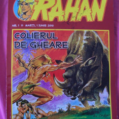 RAHAN - COLIERUL DE GHEARE . - Reviste benzi desenate