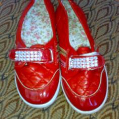 ADIDAS / ESPADRILE / BALERINI / PANTOFI FETITE - Pantofi copii, Fete, Marime: 30, Rosu