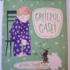 GREIERUL CASEI - TITEL CONSTANTINESCU , EDITURA TINERETULUI ANUL 1960 , PAGINI 54 .
