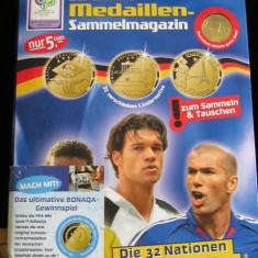 REVISTA COLECTIE MEDALII FOOTBAL 2006 - GERMANIA