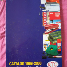 CATALOG BIROTICA SI PAPETARIE NR 5, ANUL 1999- 2000.