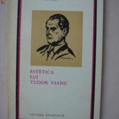 ION PASCADI - ESTETICA LUI TUDOR VIANU
