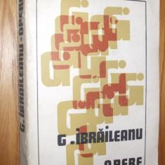 GARABET   IBRAILEANU * Spiritul Critic in Cultura Romaneasca - Opere, vol 1