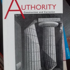 AUTHORITY -CONSTRUCTION AND CORROSION -CARTE IN ENGLEZA
