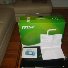 Laptop MSI CX600, Intel Core Duo, 4 GB, 120 GB